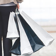 Person Holding Bags