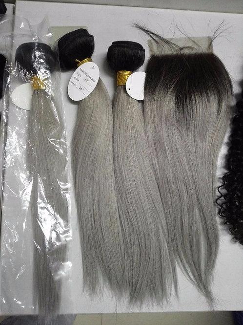 Grey Hair Straight