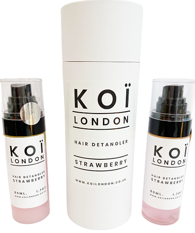 Koi London. Beard Oil. Hair Dentangler.