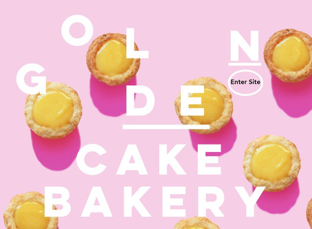 Yummy Golden Cakes Website Designed By Platinum media London, is finally live!