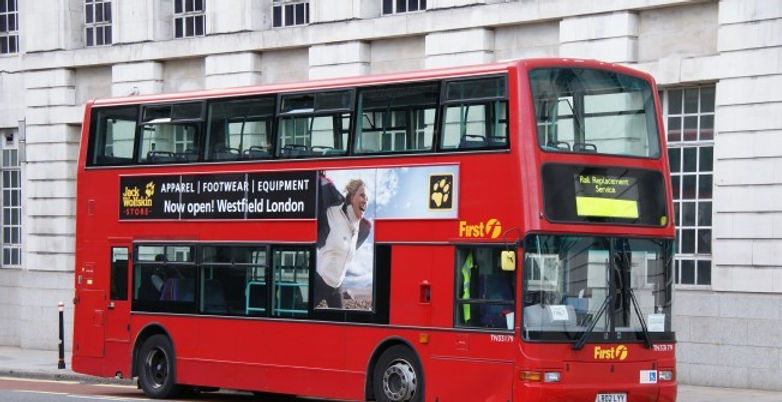 Bus Advertising Platinum M3dia London.jp