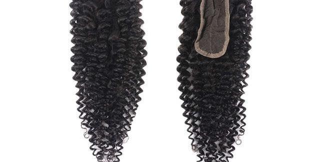 Brazilian Curl Pre-Plucked 2x6 Swiss Lace Closure