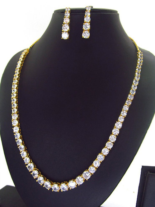 CZ Necklace Set 135