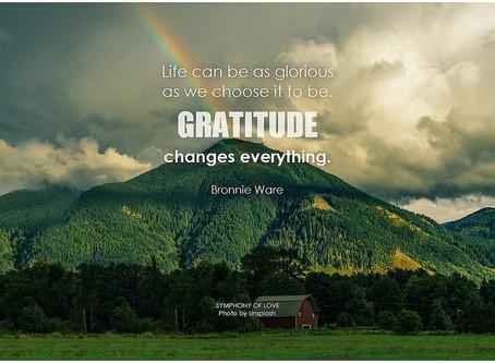 Show gratitude to those who challenge you