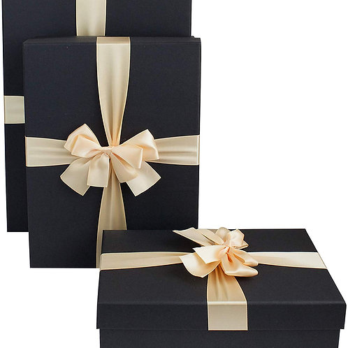 Luxury Presentation Box, Black Box with