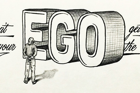 How to stop the ego from sabotaging your success (Start Ups)