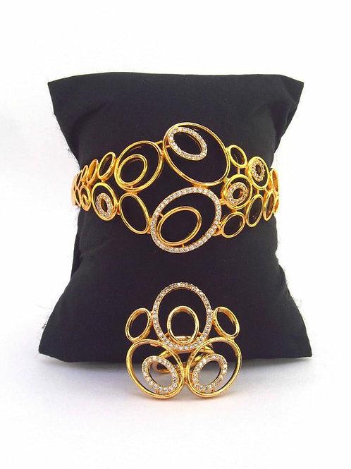 CZ Bangle & Ring