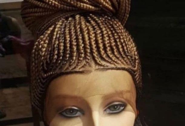 Full Cornrow Wig