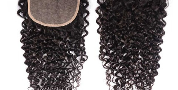 5x5 Water Wave Curl Lace Closure