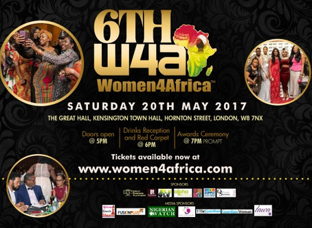 #Women4Africa awards is just 3 weeks to go.