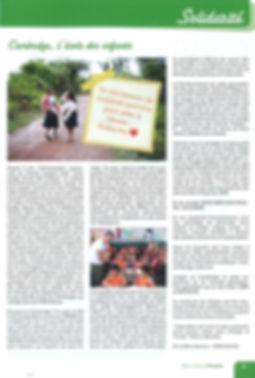 Bien vivre à Chastre Cambodg CEDE