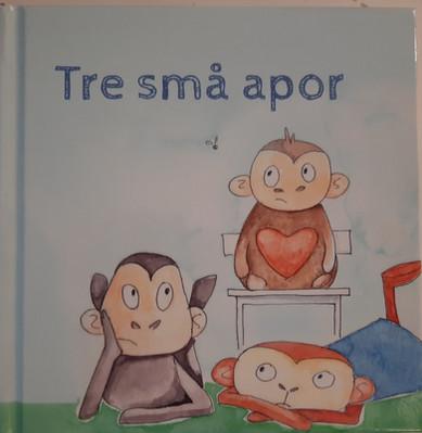 Tre små apor