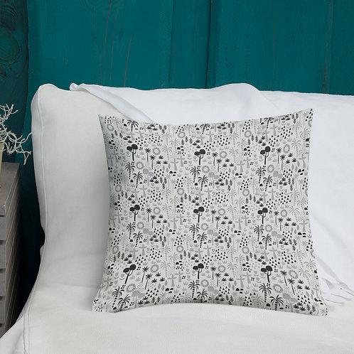 Jungle Pillow, Nursery Decor, Kids Cushion
