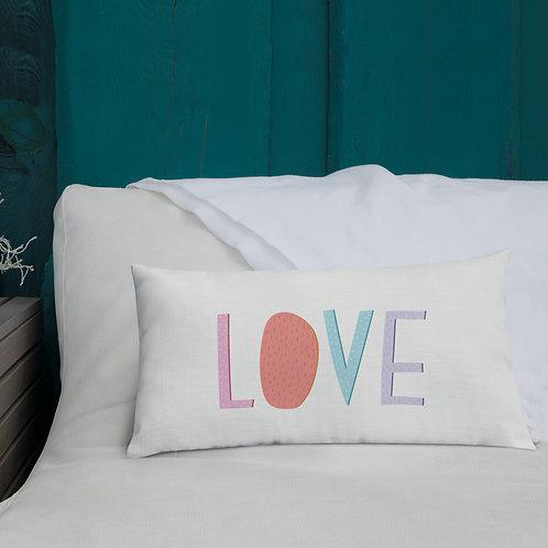 Love Premium Pillow - Throw Cushion - Valentine Gift