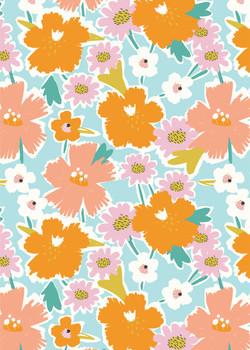 Festival Flowers Pattern