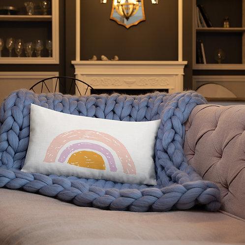 Rainbow Pillow - Kids Room Decor - Rainbow Nursery
