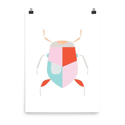 Geo Bug Art Print