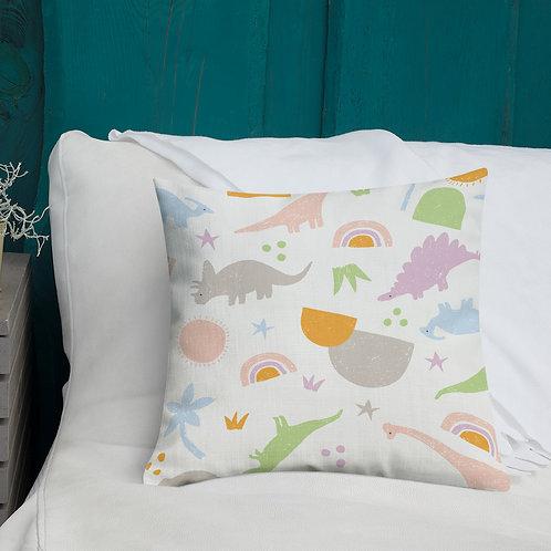 Dinosaur Pillow - Throw Cushion