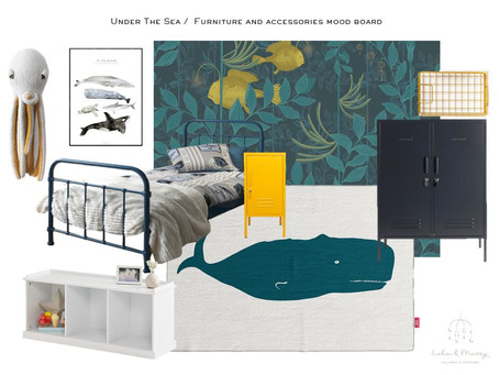 Top tips to design your child's themed bedroom.. that you will both love