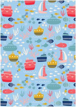 Boats Pattern