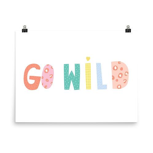 Motivational Print, Inspiring Quote Art, Animal, Safari Nursery Decor