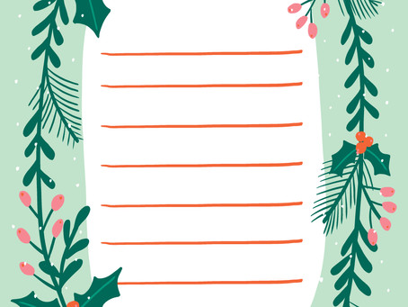 Free Christmas Wish List Printable