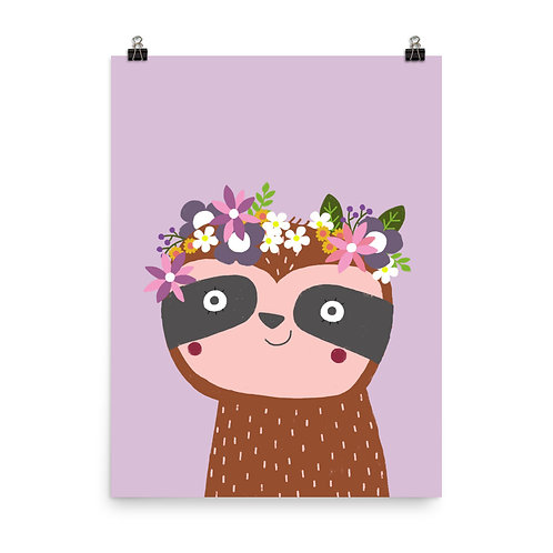 Children's Print - Sloth