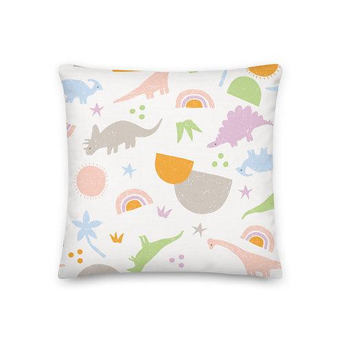 Dinosaur Pillow - Nursery Room Decor - Pillows and Cushions For Kids