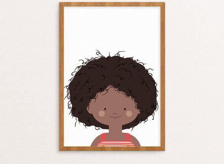 Custom Children's Portraits