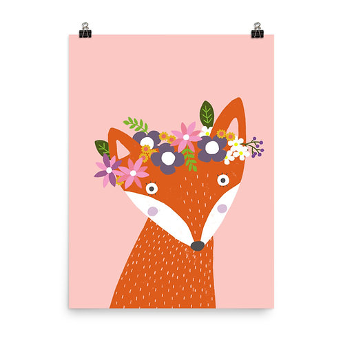 Children's Print - Fox