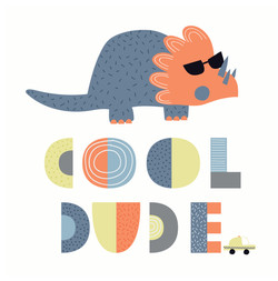 Cool Dude Triceratops