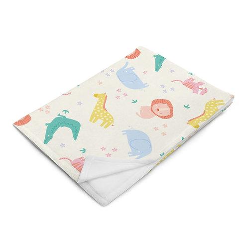 Safari Animal Throw Blanket