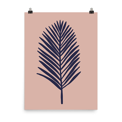Tropical Leaf Botanical Print