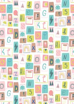 Weather Alphabet Pattern