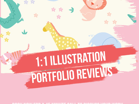 1:1 Illustration Portfolio Reviews