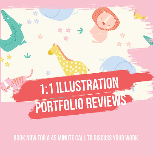 1:1 Illustration Portfolio Review