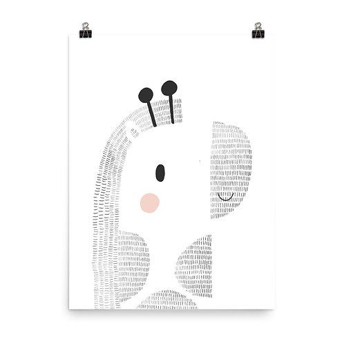 Children's Print - Giraffe
