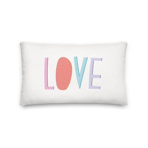Love Pillow - Throw Pillow - Cushions and Pillows - Pillows For Kids - Gift For