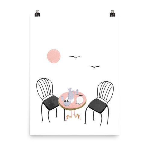 Alfresco Dining Print