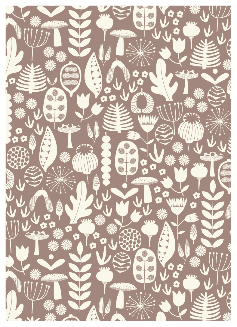 Autumn Seeds Pattern