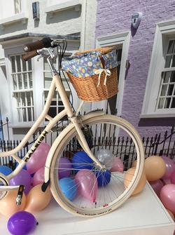 Raleigh Bikes Basket Liner Pattern