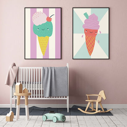 Cute Icecreams_Nursery Mock Up_Alice Pot