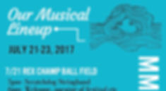 Manzanita Music Festival Lineup