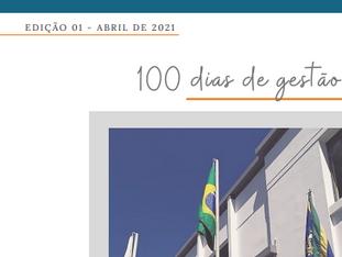 Boletim Informativo: 100 dias de gestão