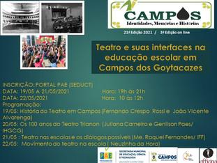 Campos: Identidades, Memórias e História - 21ª Edição