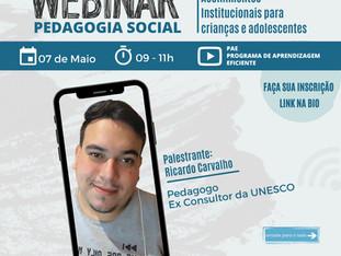 Webinar Pedagogia Social
