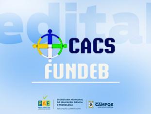 EDITAL DE CHAMAMENTO PARA ELEIÇÃO DOS CONSELHEIROSDO CACS/FUNDEB, BIÊNIO 2021-2022