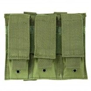 VISM® by NcSTAR® TRIPLE PISTOL MAG POUCH/GREEN