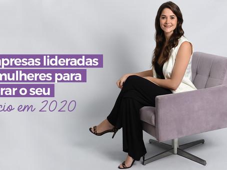 5 empresas lideradas por mulheres para inspirar o seu negócio em 2020