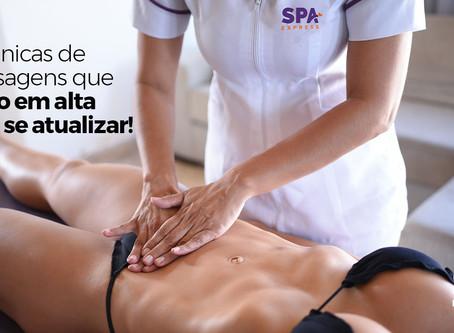 3 técnicas de massagem em alta para se atualizar
